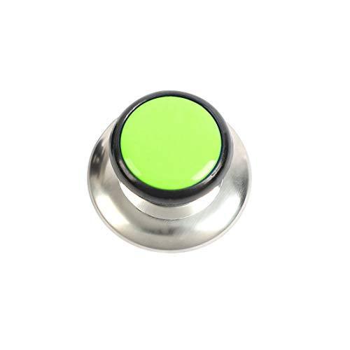 N/A Couvercle Boutons Poêles Couvercles Couvercles Remplacement Bouton en Plastique Poignée Résistance À La Chaleur pour Cuisine Ustensiles De Cuisine Couverture Vert