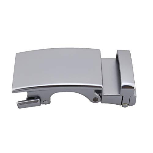 Healifty Hebilla de Cinturón Automática de Aleación para Hombre para Accesorios de Cinturón de Cuero