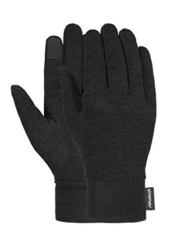 Reusch PrimaLoft Silk Liner - Guanti da sci, colore: nero, 7