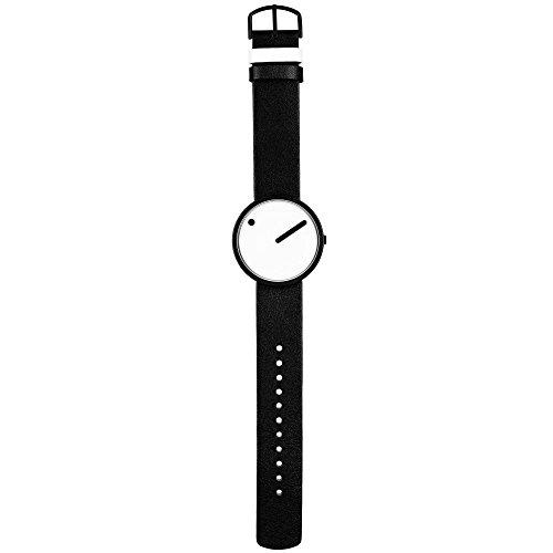 Rosendahl unisex analoog kwarts horloge met lederen armband 43379