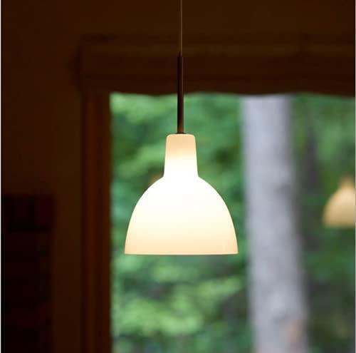 Nórdico vidrio Lámpara de techo Moderno Minimalista Lámpara colgante Mesilla de noche habitación Luces colgantes E14 * 1 sala de estar Lámpara de mesa de comedor restaurante candelabro D15.5 * H16CM