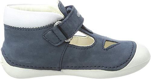 Geox B Tutim a, Zapatillas para Bebés, Navy/White C4211, 20 EU