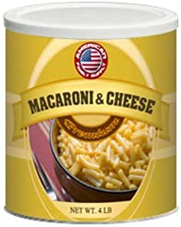Fresh and Honest Foods Macaroni & Cheese 64 OZ #10 Can