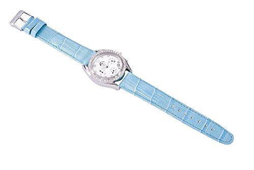 Heide Heinzendorff Einhängerpaar u004310004901Damen Armbanduhr, Lederband türkis