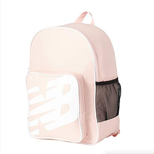 New Balance Men's and Women's Sporty Backpack 600D Polyester Plain Weave, Peach Soda