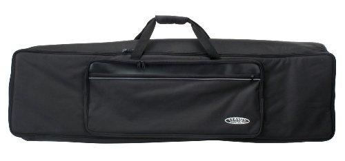 Classic Cantabile KT-E Keyboardtasche Größe E schwarz (Innenmaße 128 x 32 x 12cm, Schaumstoffpolsterung, Reiß- und Wasserfest, Rucksackgurte verstellbar)