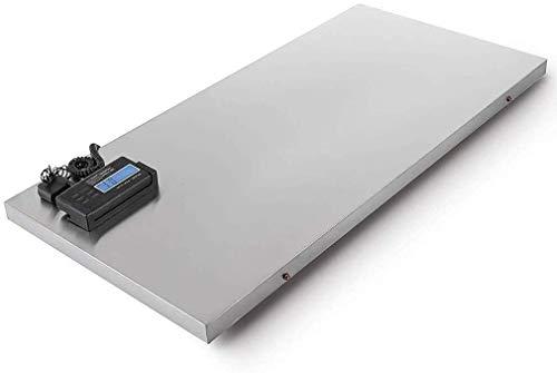 Corporal Báscula Escalas postal digitales de peso inteligente, escala de franqueo / parcela, plataforma de acero inoxidable Balance de pesaje industrial 300kg / 0.1kg con cable de pantalla LC