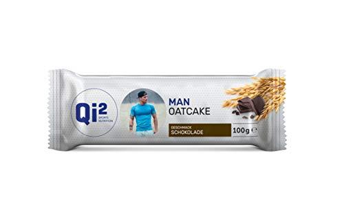 Qi² Man Oatcake Energieriegel Schokolade