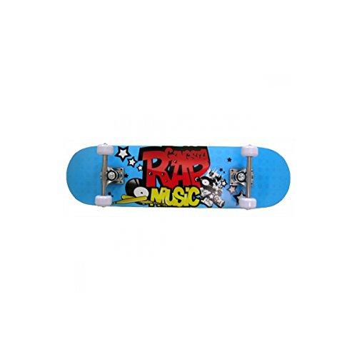 Pro Accro Rap Skateboard Mixte Enfant, Multicolore,