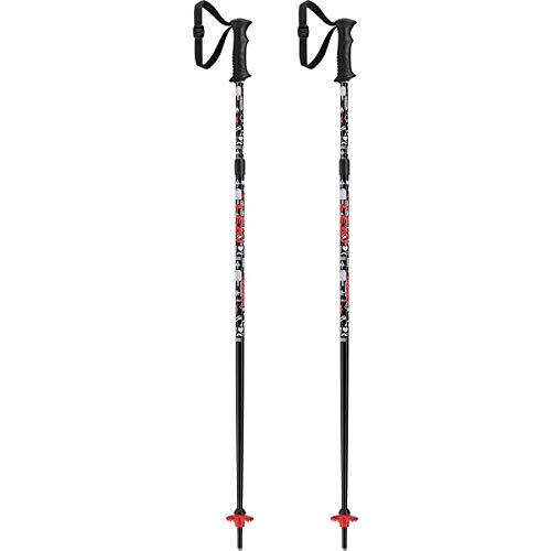Leki Sports Bastón de esquí, Unisex, Rojo y Blanco, Talla única