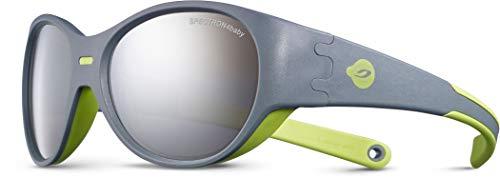 Julbo Puzzle   Gafas de sol para bebé niño, gris/verde, FR único (talla del fabricante: 3 5 años)