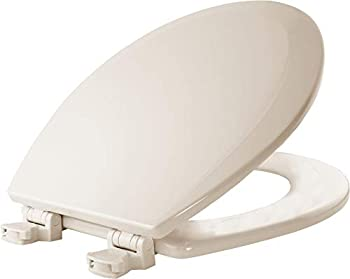 Bemis 500EC346 Molded Wood Toilet Seat, Round