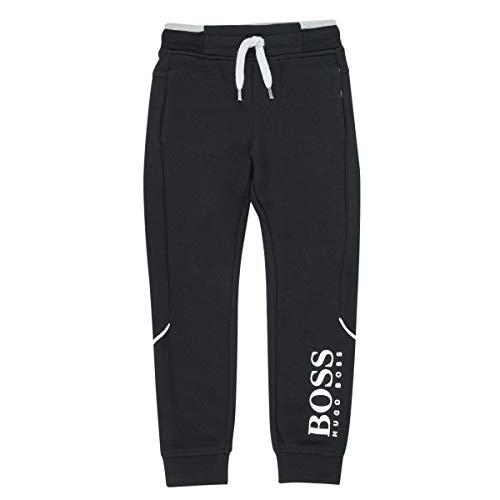 BOSS Pantalon de Jogging molletonné Enfant Black 8ANS