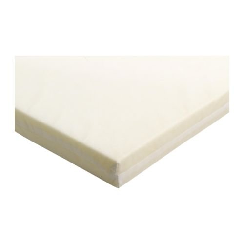 Ikea VYSSA SLAPPNA–Matratze für Babybett, weiß–60x 120cm