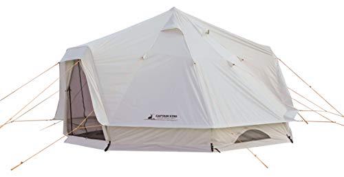 キャプテンスタッグ(CAPTAIN STAG) テント ワンポールテント DXオクタゴン 400UV 【サイズ400×400×H250cm】...