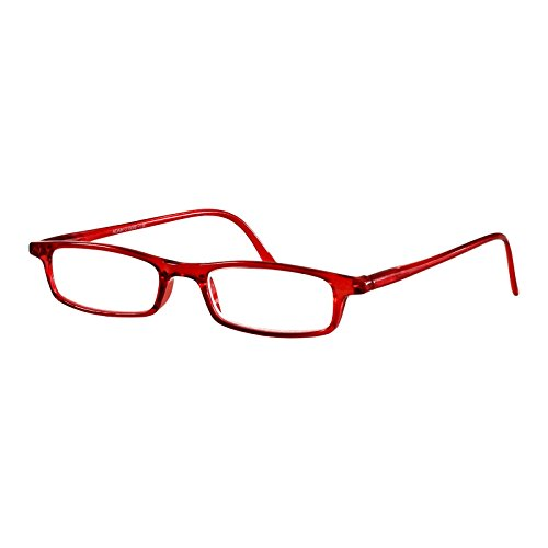 I NEED YOU Lesebrille Adam / +4.00 Dioptrien / Rot
