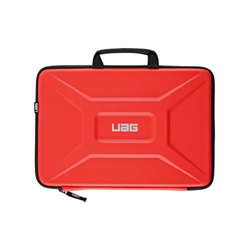 """Urban Armor Gear universal Laptop / Tablet Tasche für Apple iPad Pro 12.9 / MacBook Pro, Microsoft Surface uvm. (universal Schutzhülle bis 13\"""", Innentasche, Handsschlaufe, verschleißfest) rot"""
