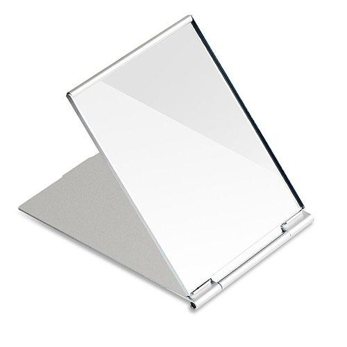 G2Plus? Portátil plegable espejo sola cara viaje ducha espejo para afeitarse