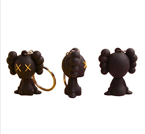Grey Prototype KAWS Original Fake Dissected Companion Model Art Toys Action Figure Collectible Model Toy Keyring Keychain Key Ring Chain Holder Organizer