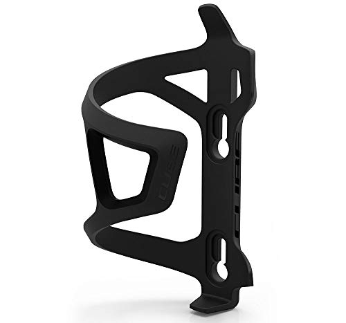Cube HPP Side-Loading Cycling Bottle Cage - Stealth Black, Right Sided Loading/Bicycle Cycling Cycle Biking Bike Riding Ride Mountain MTB Road Bottle Bidon Vessel Flask Holder Mount Lightweight Part