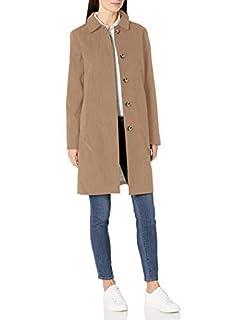Amazon Essentials Women's Water-Resistant Collar Coat, Khaki, Small (B07Y55YCQ5)   Amazon price tracker / tracking, Amazon price history charts, Amazon price watches, Amazon price drop alerts