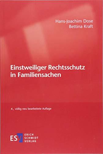 Einstweiliger Rechtsschutz in Familiensachen