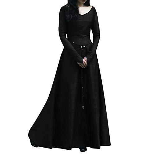 Amphia - Damen Ballkleid gotische Lolita Abendkleid mit Bowknot Fuer die Hochzeit,Frauen Plus...