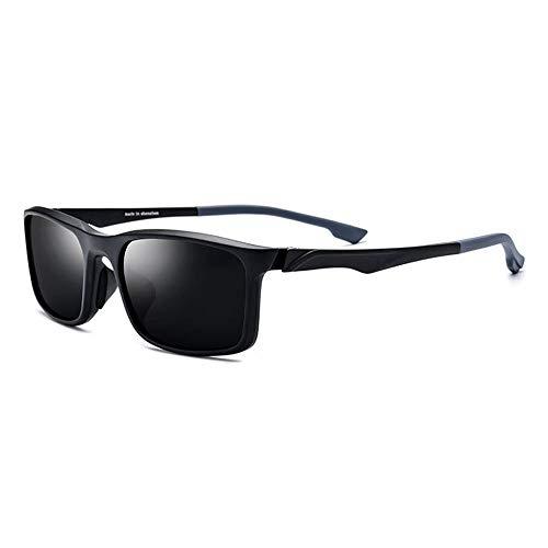 LG Snow Gafas Deportivas TR90 for Montar En Bicicleta Al Aire Libre Gafas De Sol Polarizadas Lentes Unisex Gris Protección UV400 (Color : Gray)