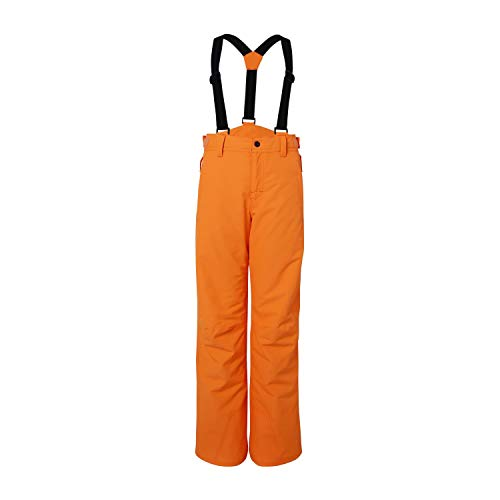 Brunotti skibroek snowboardbroek Footstrap JR FW1920 Boys Snowpants (138 Fluo Orange, 152)