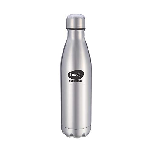 Pigeon by Stovekraft Aqua Therminox Stainless Steel Vaccum Insulated Water Bottle with Copper Coating Inside for Better Hot and...