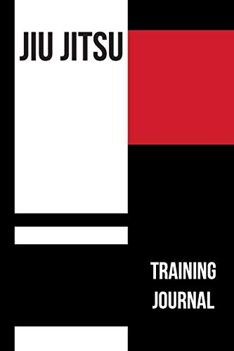 Jiu jitsu Training Journal: BJJ Training Log Book and Notes Diary.