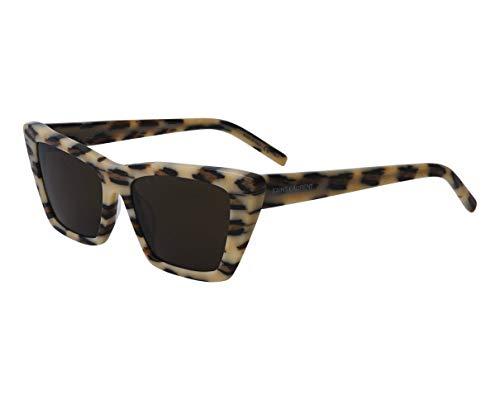 Yves Saint Laurent SL-276-MICA 016 - Gafas de sol, color crema y marrón