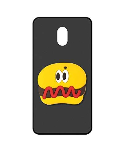 Sunrive Kompatibel mit Meizu M3 Max Hülle Silikon, Ständer Fingerhalter Fingerhalterung Handyhülle matt Schutzhülle Etui Hülle (Hot Dog) MEHRWEG