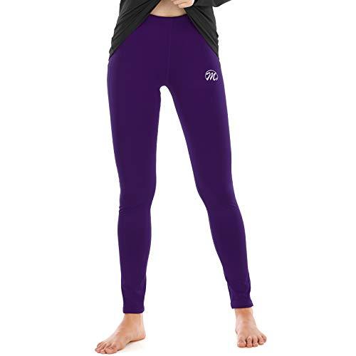 Meetwee - Pantalón térmico para mujer, ropa interior térmica
