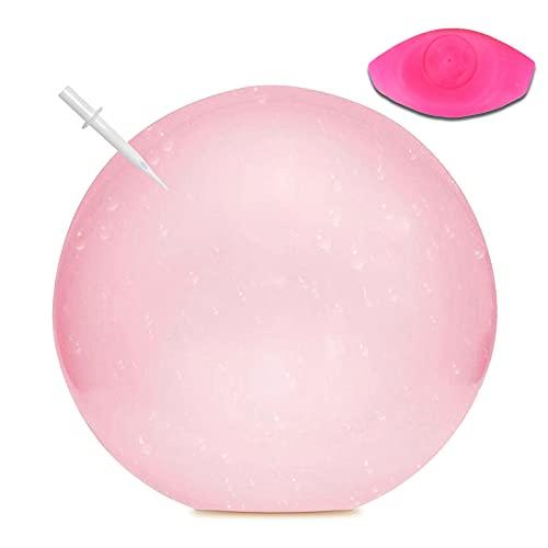 GUBOOM Bubble Ball, Wubble Bubble Ball, Bubble Ball Kinder, Magic Bubble Ball,Wubble Bubble Ball XXL,Wasserball,Magischer Bubble Ball,Wasserball XXL,Weichgummiball für Sommer Strand,3 Farben Verfügbar