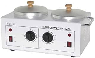 BR Beauty Professional Spa Double Wax Warmer Dual Temperature