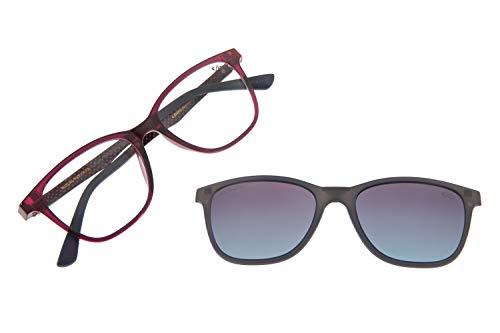 Armação Para Óculos Grau Feminino CHILLI BEANS Multi Roxo Polarizado, LVMU0252 2014, Tamanho Único
