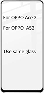 TOMMY-Phone Screen Protectors - imak Pro+ Full Screen Glue Tempered Glass For OPPO Ace 2 Ace2 A52 (Black For OPPO A52)