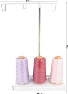 Porte-bobine de fil accessoires de Machine /à coudre domestique fil de fer unique en forme de pagode avec Base robuste pour support de fil de fer /à coudre