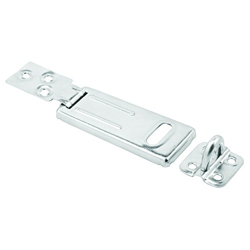 Prime-Line MP5053 Safety Hasp, 3-1/2 Inch, Steel Construction, Zinc Plated Finish, Heavy Duty, Pack of 1