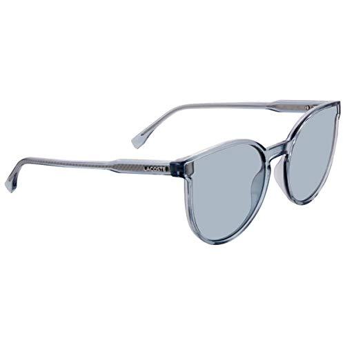 Lacoste L896S, Injected - Gafas de Sol Azules, Transparentes, Unisex, para Adulto, Multicolor, estándar