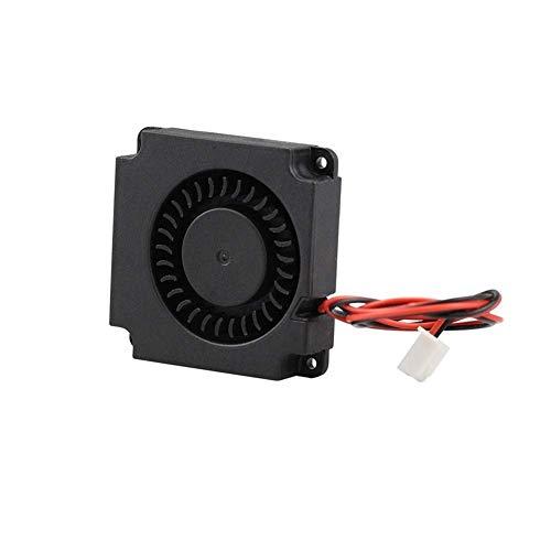 Accesorios de impresora Ventilador de turbina 5V 12V 24V 40mm * 10mm 4010 DC Turbo Ventilador 5V Cojinete Ventiladores Radiales de refrigeración aptos para Creality CR-10 Kit Impresora 3D (Tamaño: 401
