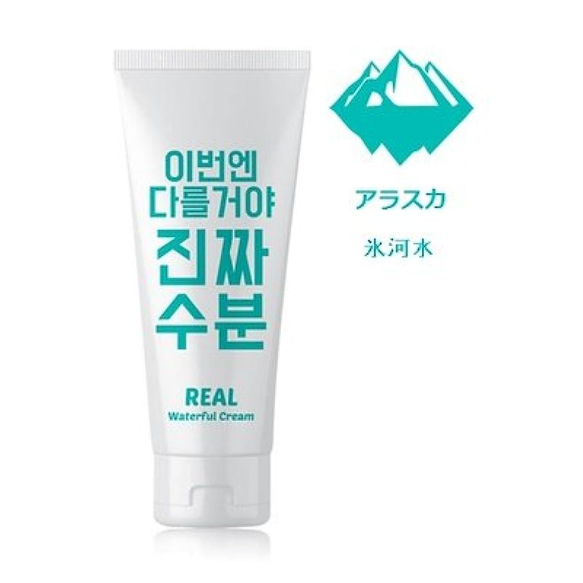 テクトニック雰囲気ブラウズJaminkyung Real Waterful Cream/孜民耕 [ジャミンギョン] 今度は違うぞ本当の水分クリーム 200ml [並行輸入品]
