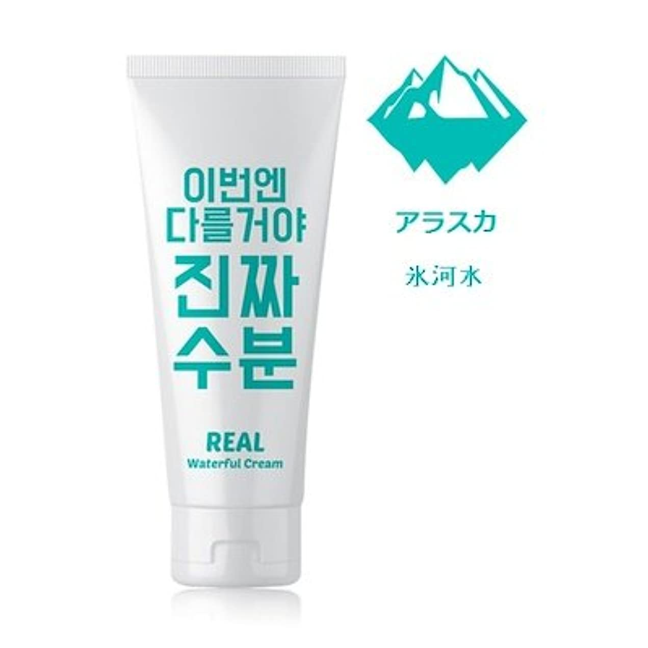 突破口発表どこにでもJaminkyung Real Waterful Cream/孜民耕 [ジャミンギョン] 今度は違うぞ本当の水分クリーム 200ml [並行輸入品]