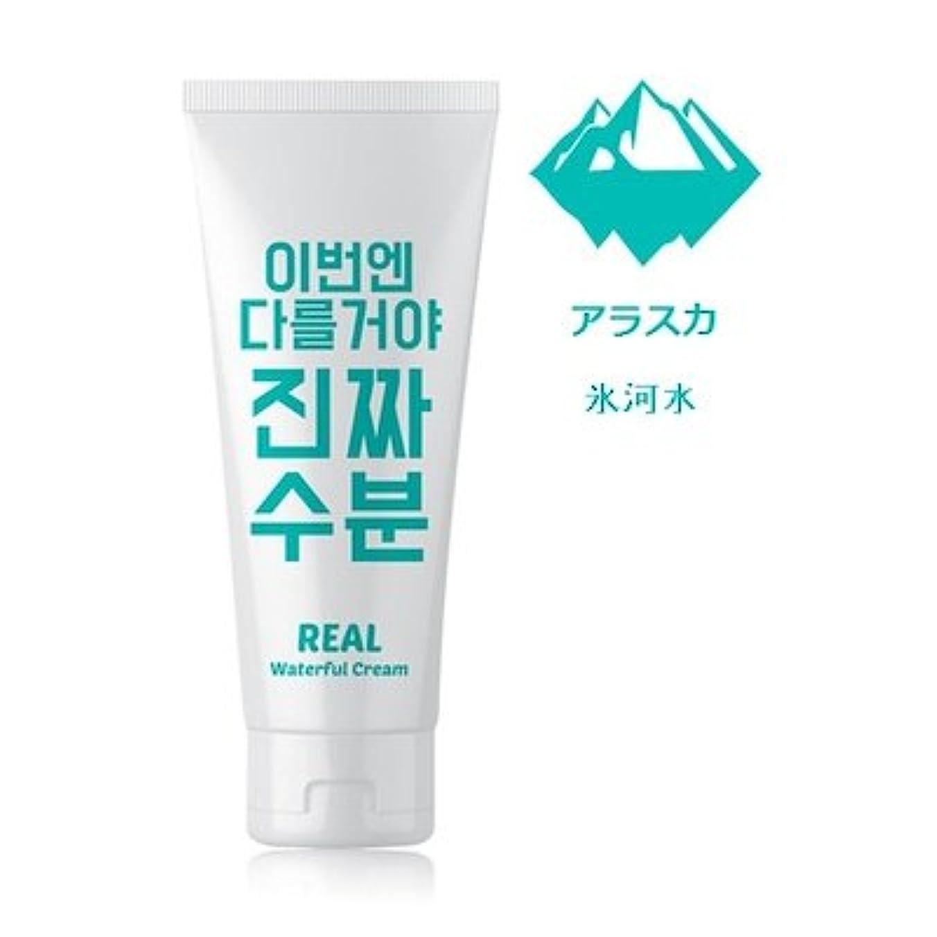 新しい意味平衡無法者Jaminkyung Real Waterful Cream/孜民耕 [ジャミンギョン] 今度は違うぞ本当の水分クリーム 200ml [並行輸入品]