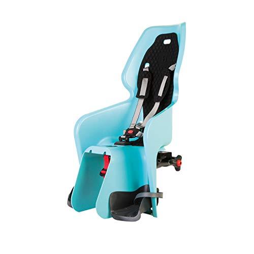 Bellelli Lotus Standard, Seggiolino Bici Posteriore Bambino, Azzurro, fissaggio al telaio