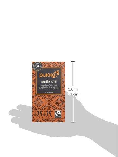 日仏貿易 pukka(パッカ) バニラチャイ有機ハーブティー0TB