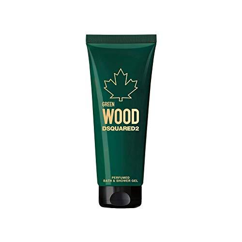 DSQUARED2 Perfumes Green Wood Gel Doccia, 250 ml