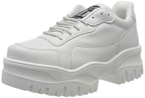 Dockers by Gerli Women's Low-Top Sneakers, White Weiss 500, 10