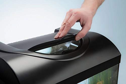 Diversa Aquarium 50er komplett Set 50x25x30 cm rechteck schwarz - 2